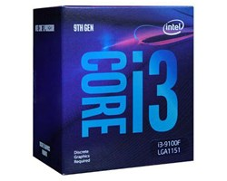 CPU Intel Core i3-9100F (4C/4T, 3.60 GHz - 4.20 GHz, 6MB) - LGA 1151-v2