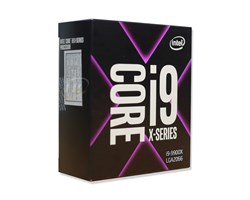 CPU Intel Core i9-9900X (3.5GHz turbo up to 4.4GHz, 10 core 20 Threads , 19.25MB Cache, 165W)