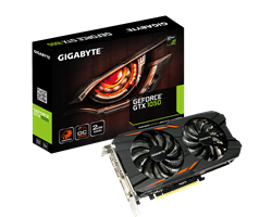 Card màn hình GIGABYTE GeForce GTX 1050 2GB GDDR5 WindForce (GV-N1050WF2OC-2GD)