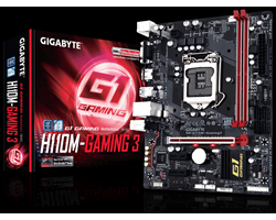 GA - H110M - Gaming 3 (rev. 1.0) - SOCKET 1151